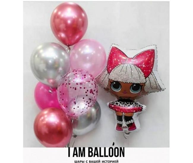 купить шарик кукла лол в минске