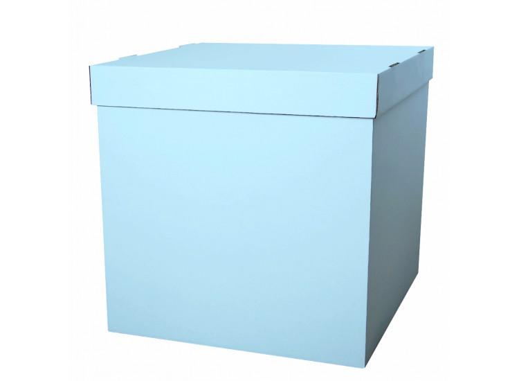 коробка для шаров голубая 60 см- 60 см