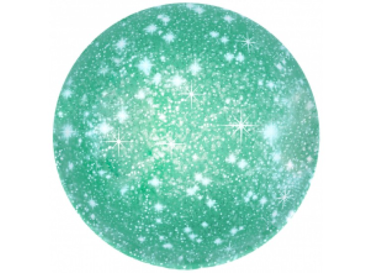18-46 см шар круг искры зеленый