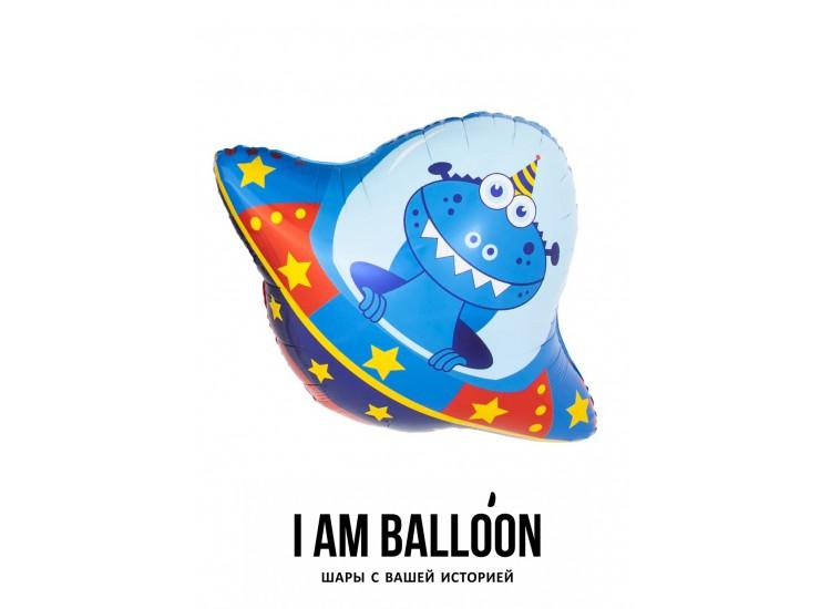 (34-86 см) Фигура Космический путешественник НЛО